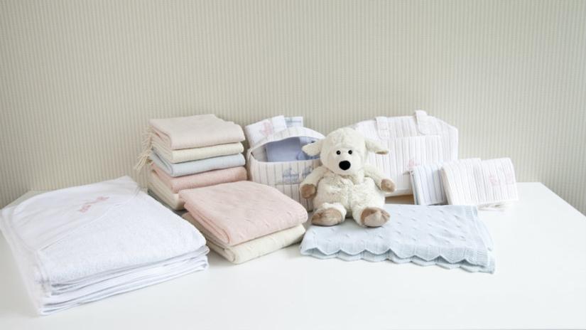 baby fleece deken lakens en knuffel
