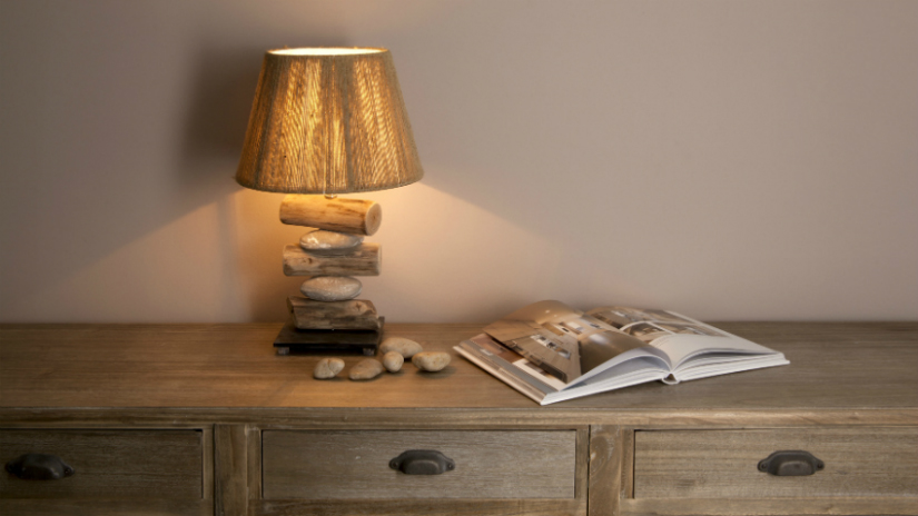 trendy houten lampen passen in elk interieur westwing