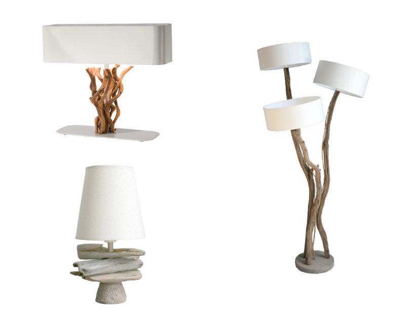 takken lamp in verschillende varianten
