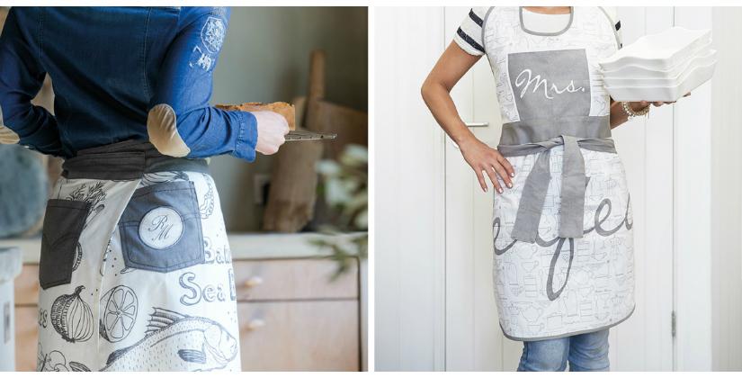 wit schort keuken wit grijze kleuren kort schort