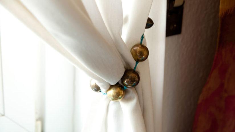 upięcia dekoracje okien