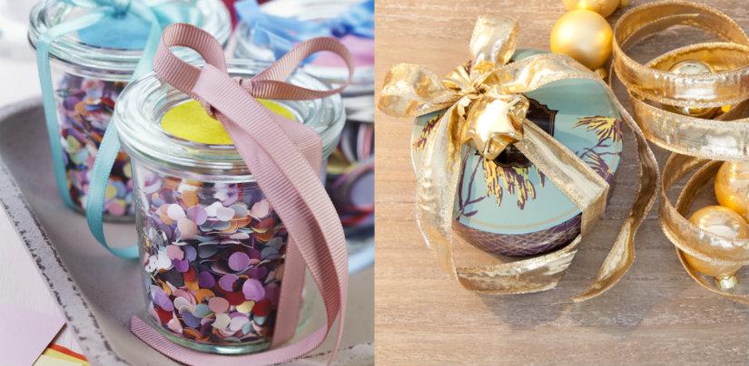 Jak zapakować prezenty w konfetti