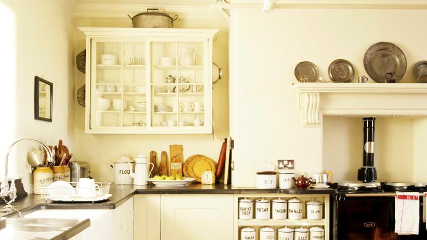 Kuchnia w stylu angielskim — 7 inspirujących pomysłów -> Kuchnia Prowansalska Miedziane Garnki