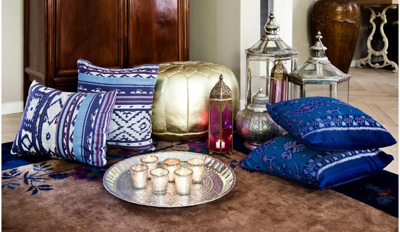 Poduchy do siedzenia w stylu orientalnym