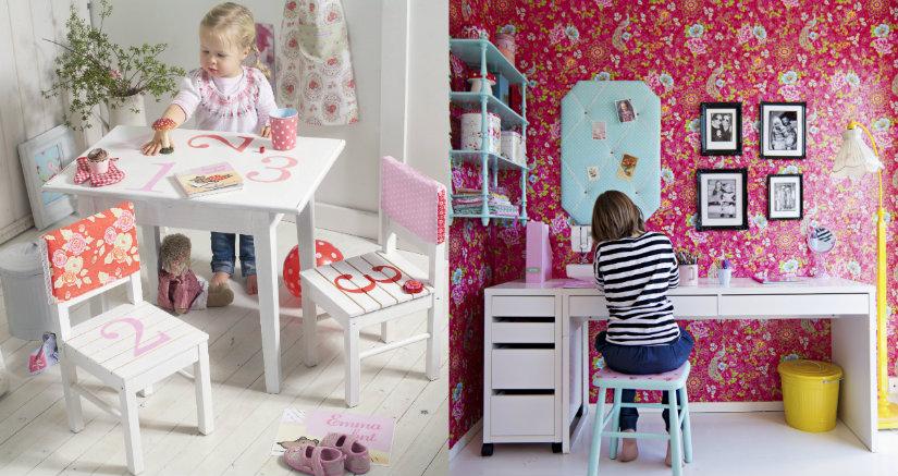 Białe biurka dla dzieci