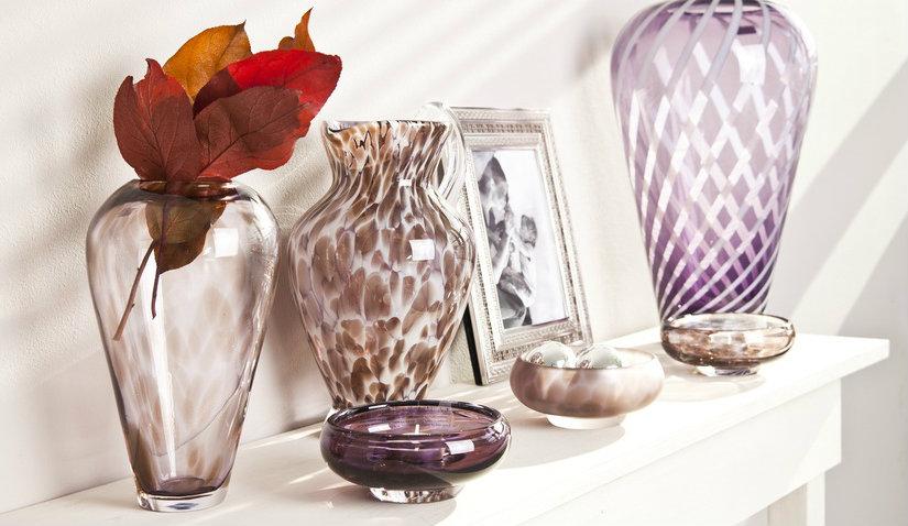 Elegancki wazon kryształowy