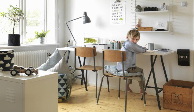 Funkcjonalny pokój dla chłopca i dziewczynki