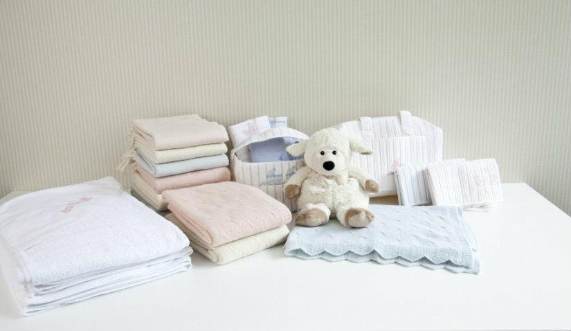 koc bawełniany dla niemowlaka