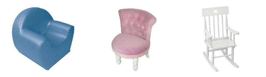Kolorowy fotel dla dziecka