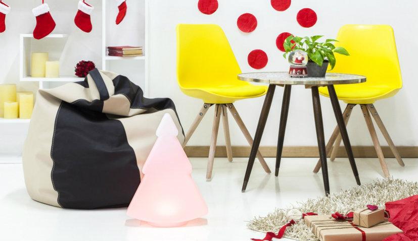 Kolorowy fotel worek dla dzieci