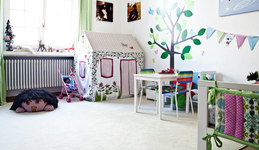 Kolorowy pokój dla chłopca i dziewczynki