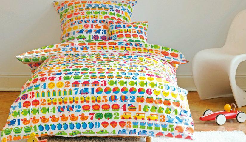 Kolorowy tapczan dla dzieci