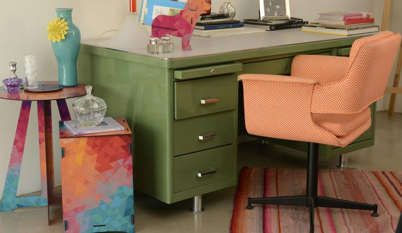 Krzesło obrotowe tapicerowane
