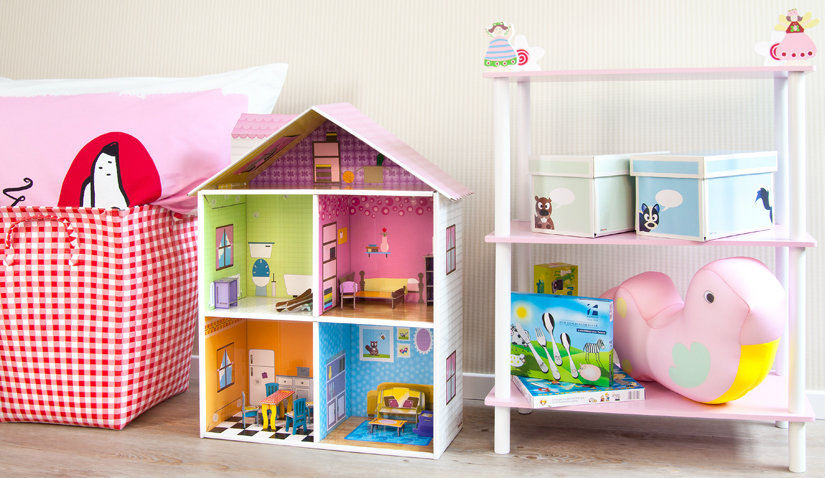 Lekka i kolorowa komoda dla dzieci