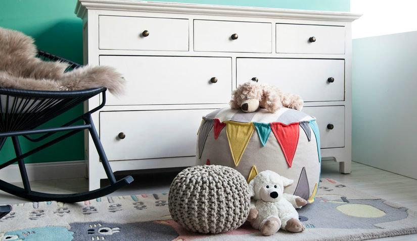 Miękki fotel dla dziecka