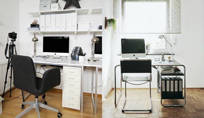 Nowoczesne biurka komputerowe