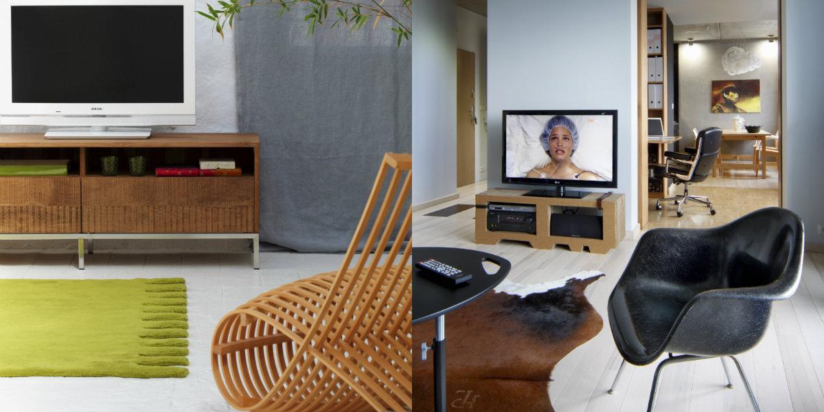 Oryginalny fotel telewizyjny