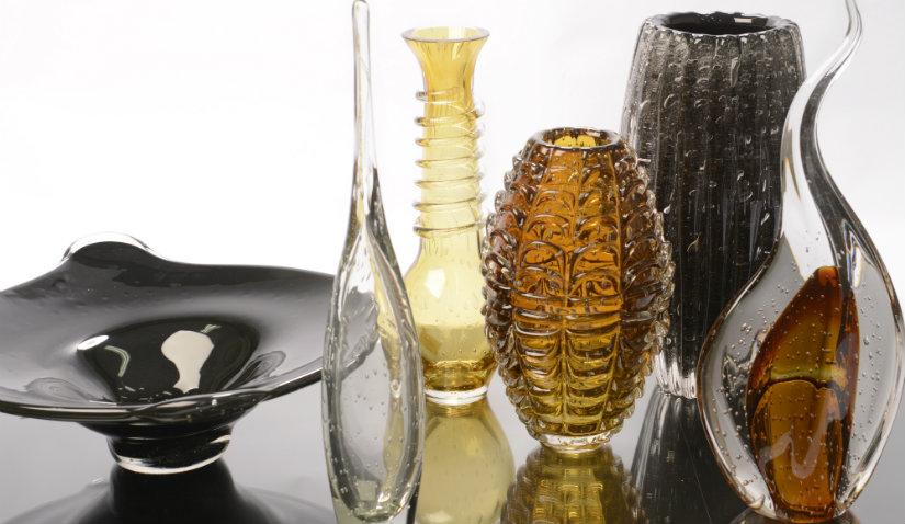 Oryginalny wazon kryształowy