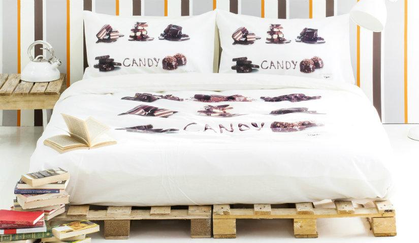 Praktyczne łóżko z palet