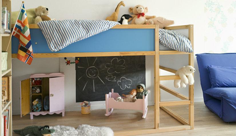 praktyczny narożnik do pokoju dziecięcego