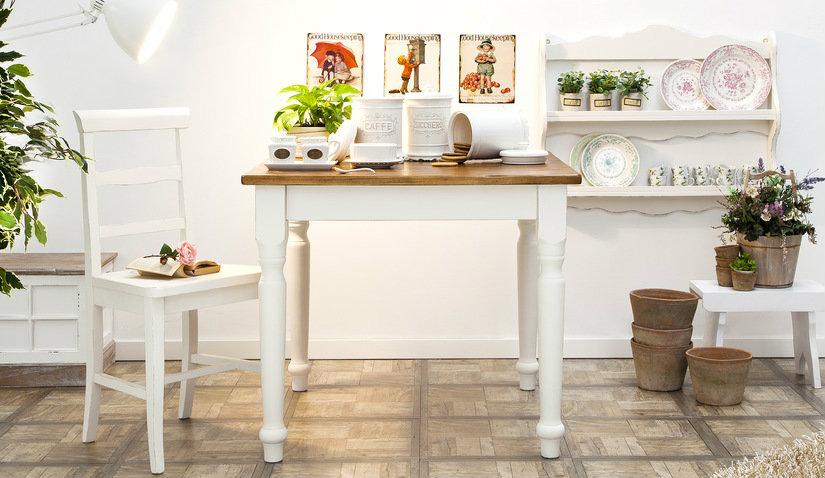 Stół prowansalski do kuchni