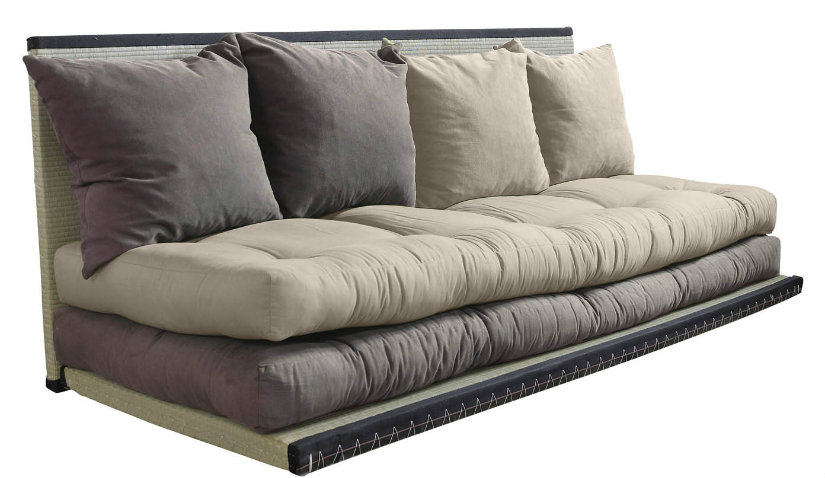 Szara sofa modułowa