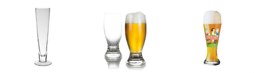 Szklanki do piwa pszenicznego