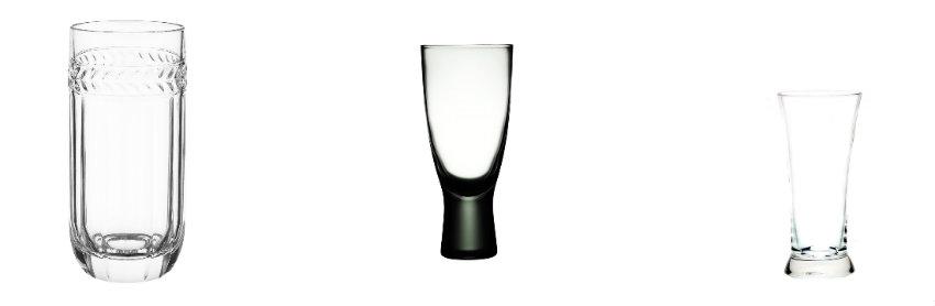 Szklanki do piwa typu lager