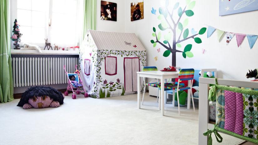 pokój dla dziewczynki dekoracje
