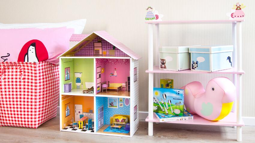 Pomys owy pok j dla dziewczynki westwing for Poppenhuis voor barbie