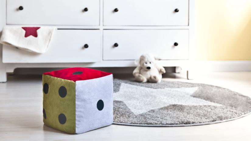 pokój dla dziewczynki dywan