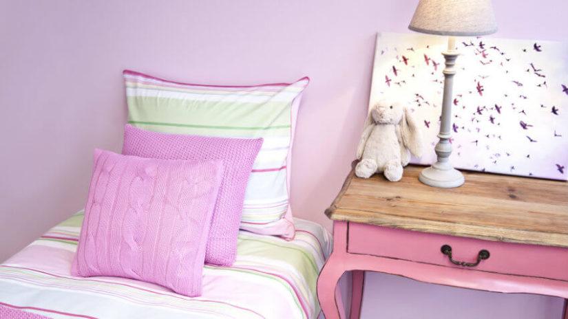 pokój dla dziewczynki kolory