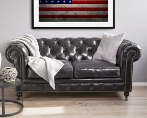 Sofa dwuosobowa Chesterfield