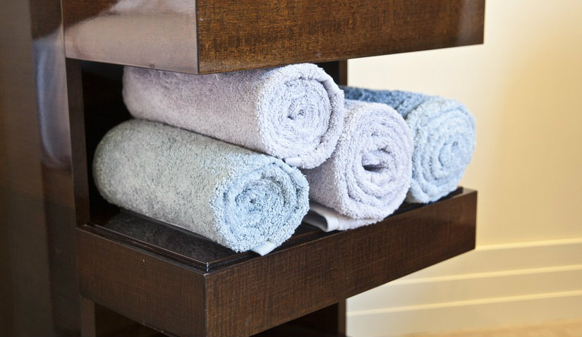 kolorowe ręczniki bambusowe