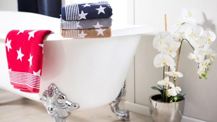 Ręczniki kąpielowe z nadrukiem
