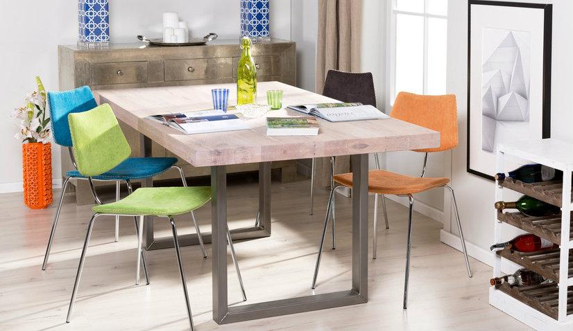 Stół rozkładany 80x80