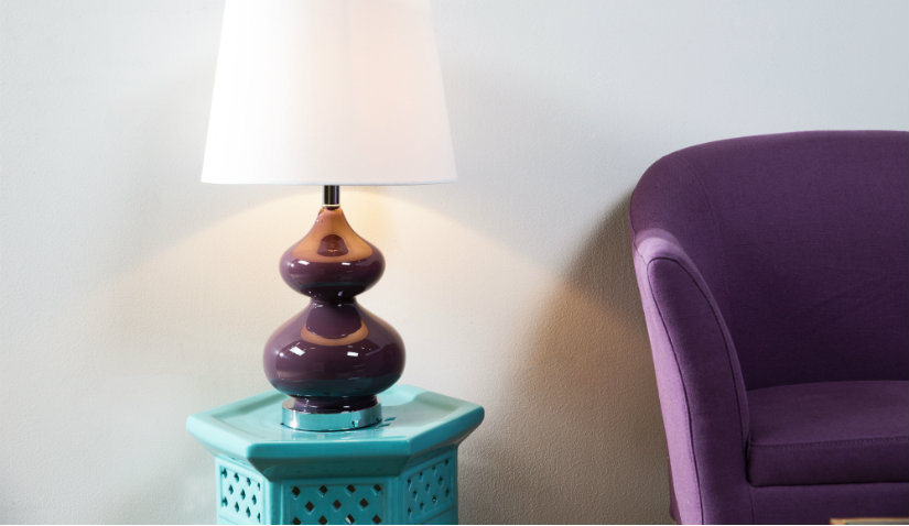 eleganckie lampy ceramiczne