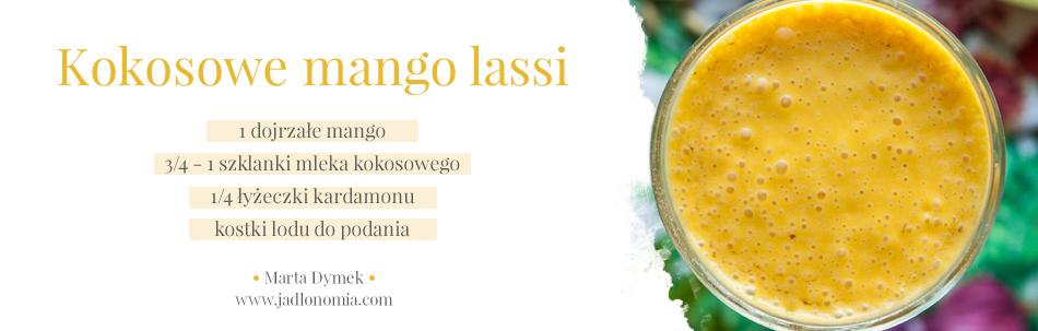 Kokosowe mango lassi