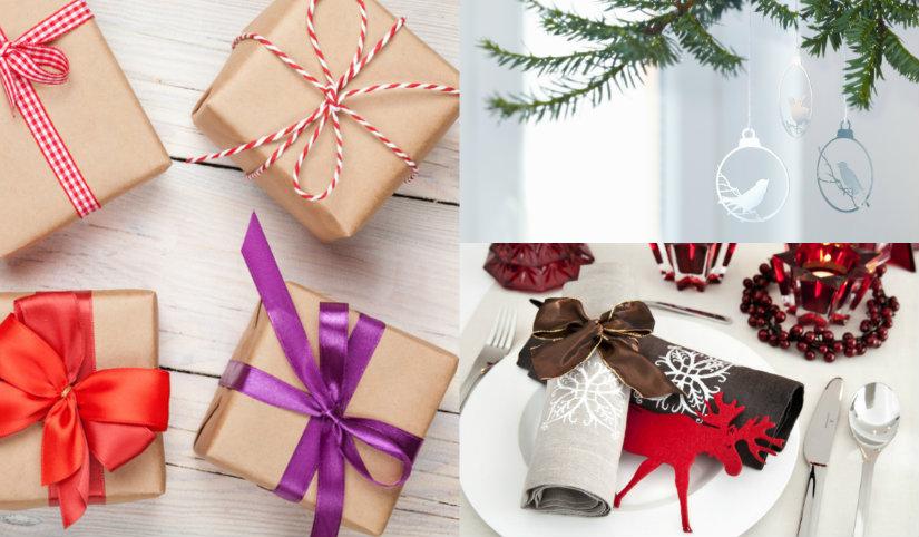 Bożonarodzeniowe dekoracje z papieru