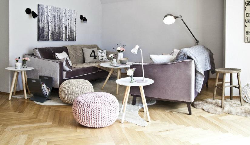 Dębowa podłoga w stylu skandynawskim