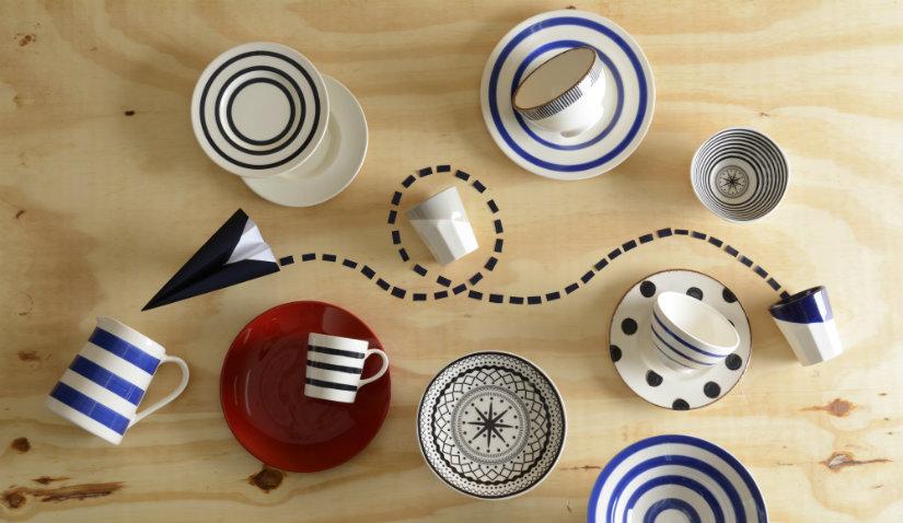 ręcznie malowane kubki ceramiczne