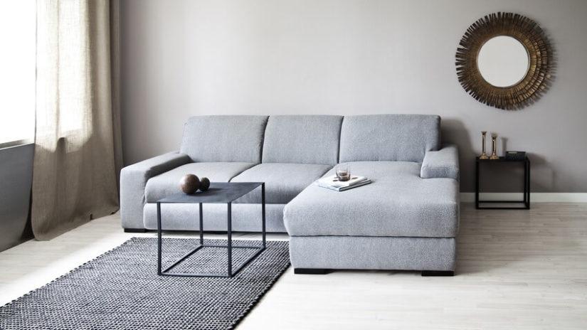 salon nowoczesny dywan