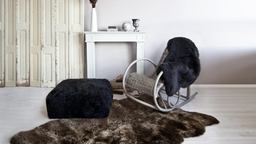 styl rustykalny salon