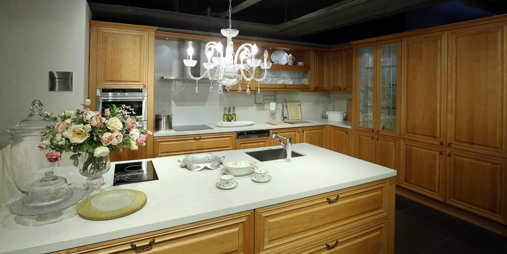 lampa kuchenna w angielskim stylu