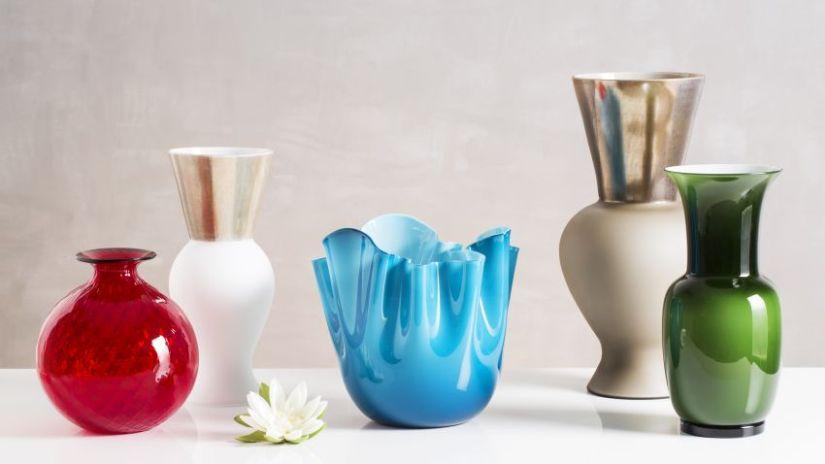 oryginalny czerwony wazon