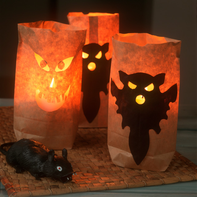 dekoracje na Halloween lampiony