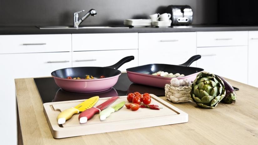 Kolorowe akcesoria kuchenne