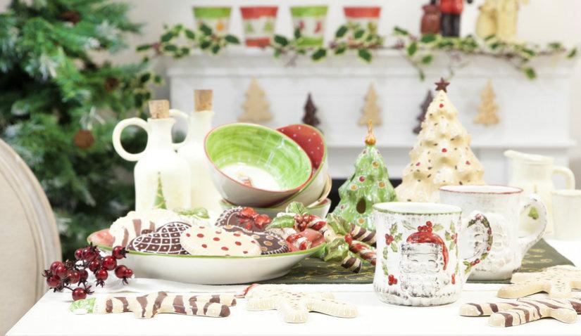 Świąteczne dekoracje w stylu retro