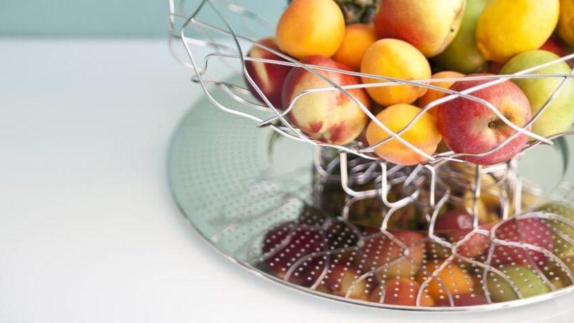 dekoracje z owoców w stylu prowansalskim