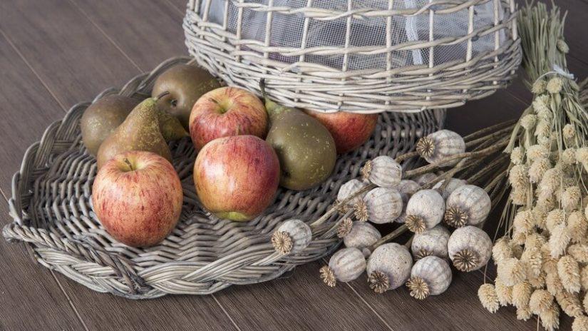 dekoracje z polskich owoców